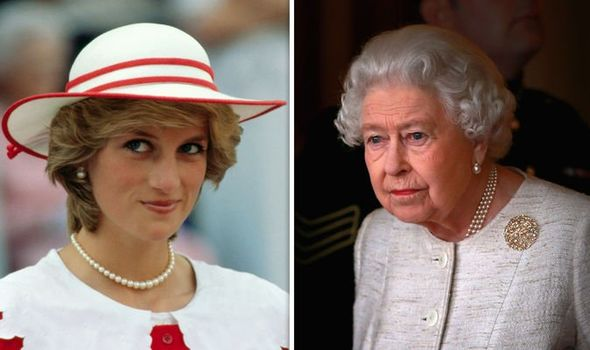 Royal news the Queen was scared of Princess Diana claims a royal author Image GETTY
