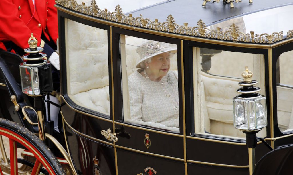 Royal secret The items the Queen carried in her Trooping the Colour carriage you didnt notice Photo C Getty Images