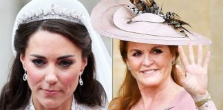Royal wedding Sarah Ferguson was allowed to keep her tiara but Kate Middleton wasn't why Image GETTY