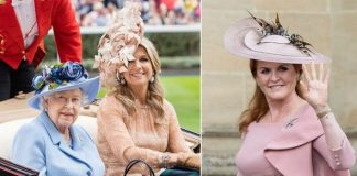 Sarah Ferguson According to sources the former royal has attended the event as the Queens guest Image Getty Images