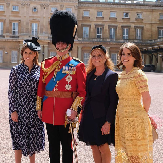 Sarah and Andrew with their daughters Princess Beatrice and Princess Eugenie Photo C GETTY IMAGES