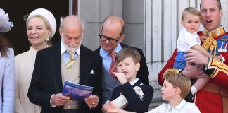 See the funny moment Prince George takes a booklet from Prince Michael of Kents hands Photo C Getty Images