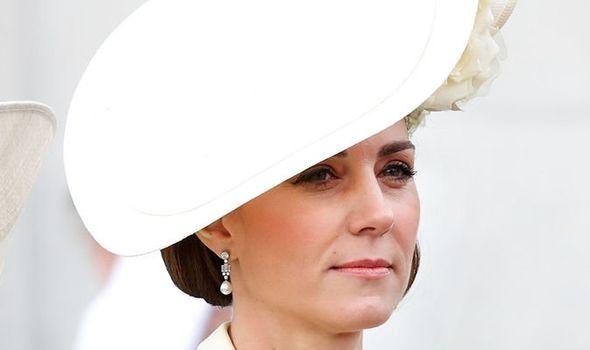 The Duchess of Cambridge's Trooping the Colour 'moody' exterior finally revealed Image GETTY