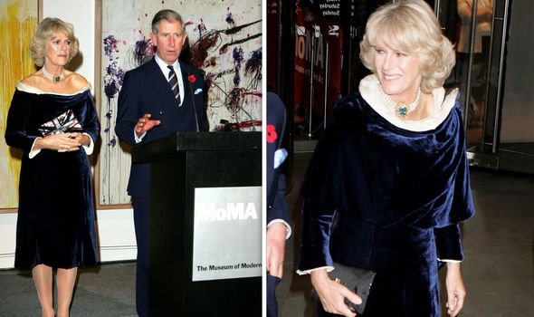 The Duchess of Cornwall at MOMA in Image Getty