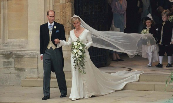 The Earl and Countess of Wessex married in Image Getty