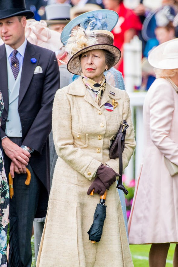 The Princess Royal at Royal Ascot Image DPPA Sipa USA
