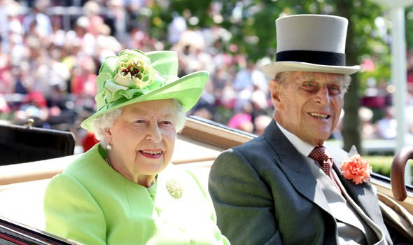 The Queen and Prince Philip have been married for more than years Image GETTY