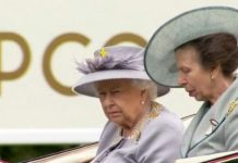 The Queen has arrived at Royal Ascot Image itv