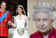 The Queen told the couple to rip up the traditional guest list Image GETTY