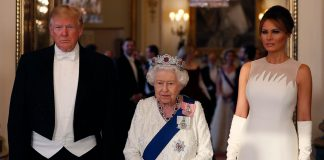 The Queen unfazed by Donald Trumps breech of protocol see the picture Photo C Getty Images