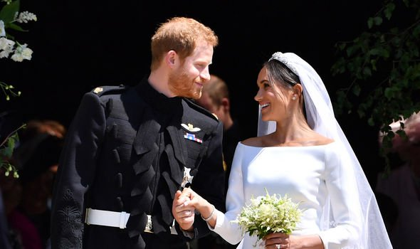 The couple have been married for just over a year Image GETTY