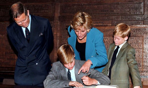 The family went to Eton for Williams first day but it was all for the cameras documentary Image GETTY
