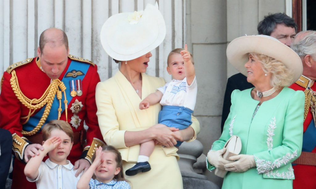 The hilarious moment between Prince Louis and the Duchess of Cornwall you might have missed Photo C Getty Images