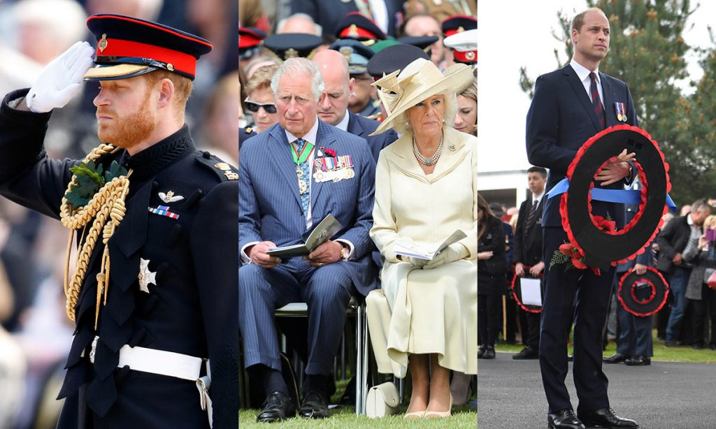 The most poignant photos from the royal familys D Day commemorations Photo C GETTY IMAGES NO