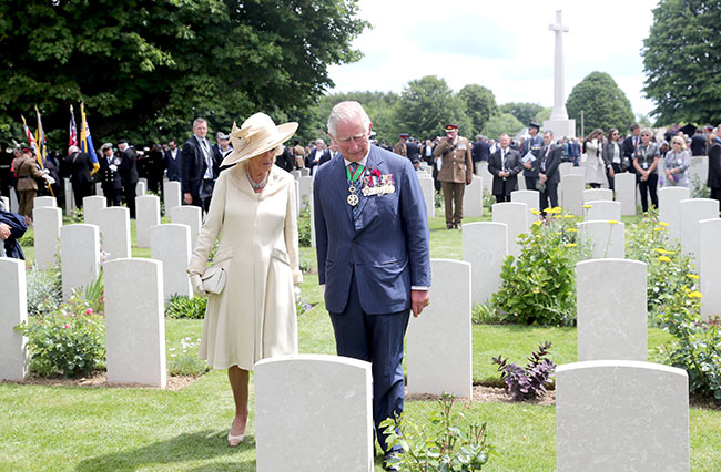 The most poignant photos from the royal familys D Day commemorations Photo C GETTY IMAGES