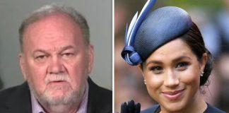 Thomas Markle Snr played a prank on his son to protect Meghan Image GETTY ITV