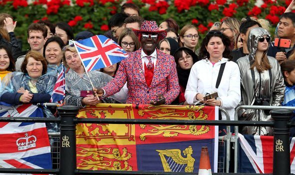 Trooping the Colour LIVE Royal fans are out in force to wish the Queen happy birthday Image Getty