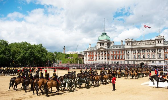 Trooping the Colour Image GETTY