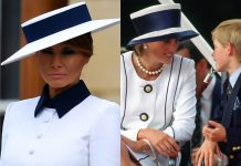 Was Melania Trump inspired by Princess Diana for her visit to Buckingham Palace Photo C Getty images