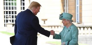Why President Trump and wife Melania didnt bow and curtsy to the Queen Photo C Getty Images