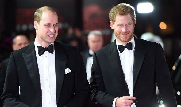 William and Harry were the sons of Prince Charles and Princess Diana Image GETTY