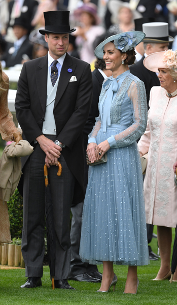 William and Kate attended Ascot on Tuesday Photo C GETTY IMAGES