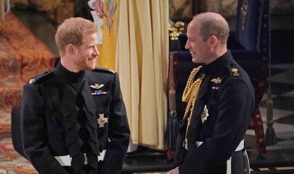 William was best man at Harrys wedding Image GETTY
