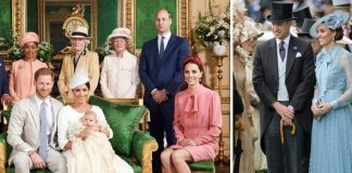 Archie Christening Kate and William featured in the official christening photo Image Chris Allerton Reuters Getty
