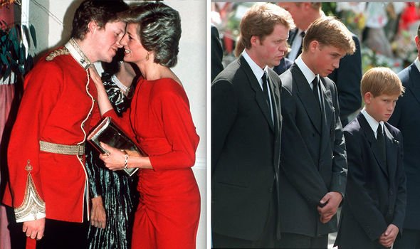 Archie Christening photos Charles gave a controversial speech at Dianas funeral Image GETTY
