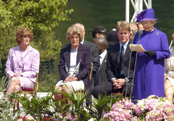 Archie Christening photos The Queen was reportedly upset by Charless funeral speech Image GETTY