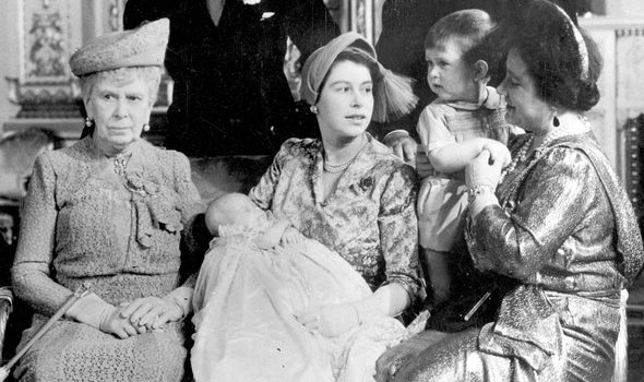 Archies Christening Most royals including Princess Anne have been wearing the robe Image GETTY