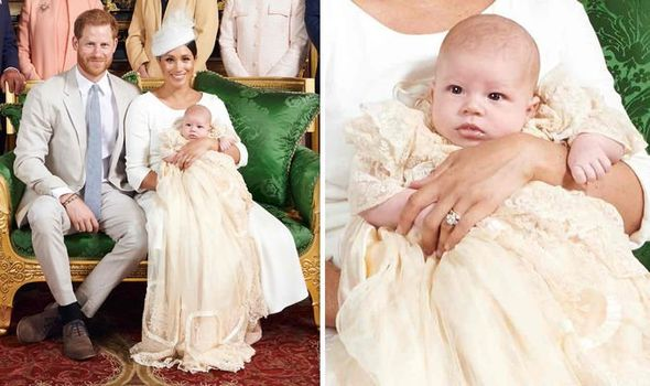 Baby Archie Meghan Markle and Prince Harry released new photos of Archie on Saturday Image Chris Allerton