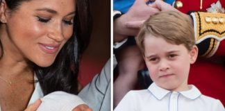 Baby Archie shock Archie wont get to follow in the footsteps of his big cousin Prince George Image GETTY