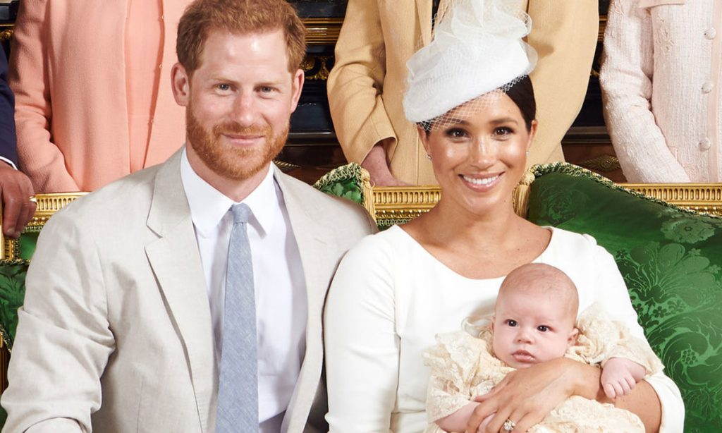 Baby Archies official christening pictures pay sweet tribute to Princess Diana Photo C GETTY IMAGES