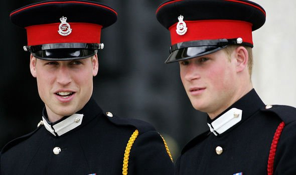 Both Prince William and Prince Harry served in the Army Image GETTY