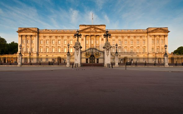 Buckingham Palace intruder The intruder climbed over the palaces front gates Image GETTY