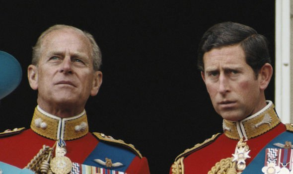 Charles and Philip were not on speaking terms due to Princess Anne Image GETTY