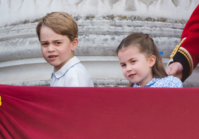 Charlotte will join big brother Prince George at Thomass Battersea in September Photo C GETTY IMAGES