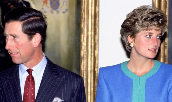 Diana and Charles separated in Image GETTY