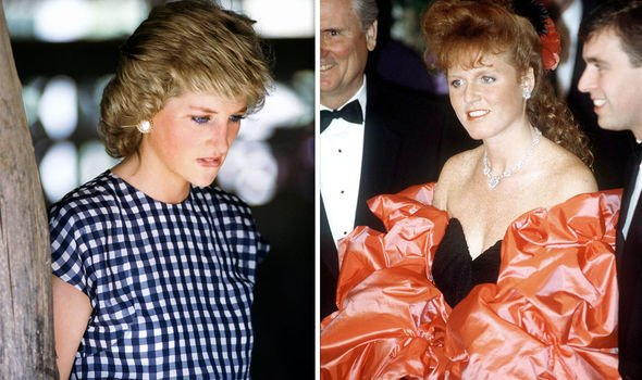 Diana and Fergie shared some insecurities about royal life Image Getty