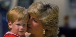 Diana and Harry together in Image GETTY