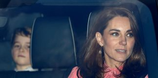 Duchess Kate is SO pretty in pink Stella McCartney for Archie Harrison's christening Photo C GETTY IMAGES