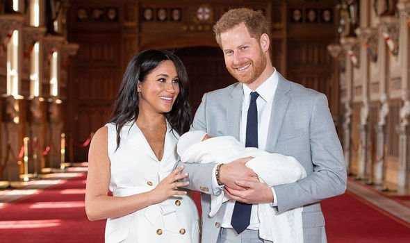 Harry also wants Archie Harrison to lead a non royal life Image GETTY