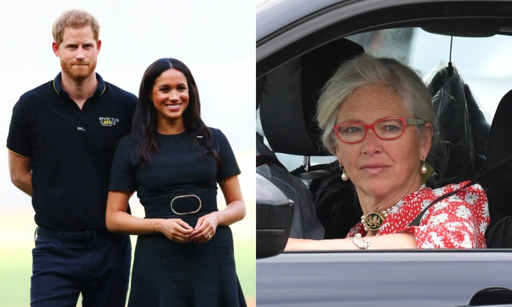 Is Prince Harrys beloved nanny Tiggy Legge Bourke godmother to royal baby Archie Photo C GETTY IMAGES