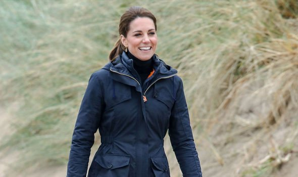 Kate Middleton Kate also spoke of children being active in their early years Image GETTY