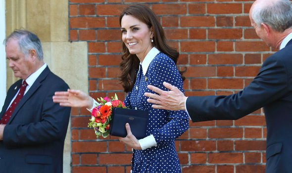 Kate Middleton Kate has been a stauch proponent of childrens support Image GETTY
