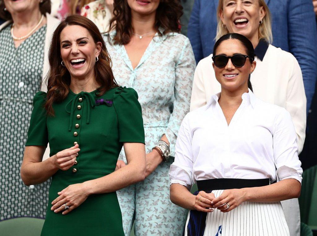 Kate Middleton and Meghan Markle JAMES MARSH BPI SHUTTERSTOCK