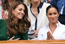 Kate Middleton and Meghan Markle share sweetest moment together at Wimbledon Photo C GETTY IMAGES