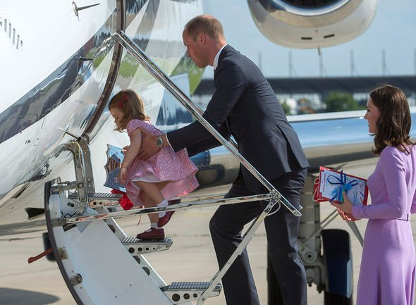 Kate Middleton and Prince William have undertaken several trips with their young children Image Getty Images