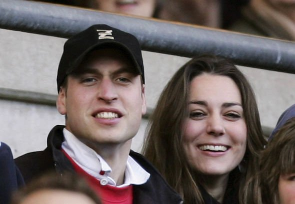 Kate Middleton body language Kate Middleton and Prince William at a rugby match in February Image RICHARD HEATHCOTE GETTY